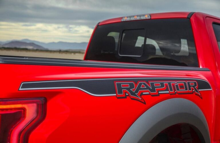 2019 Ford F-150 Raptor Back End
