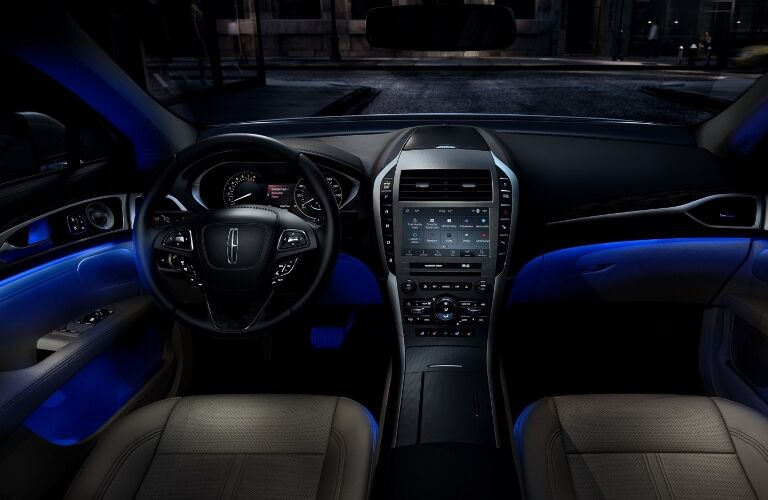 2020 Lincoln MKZ Dashboard