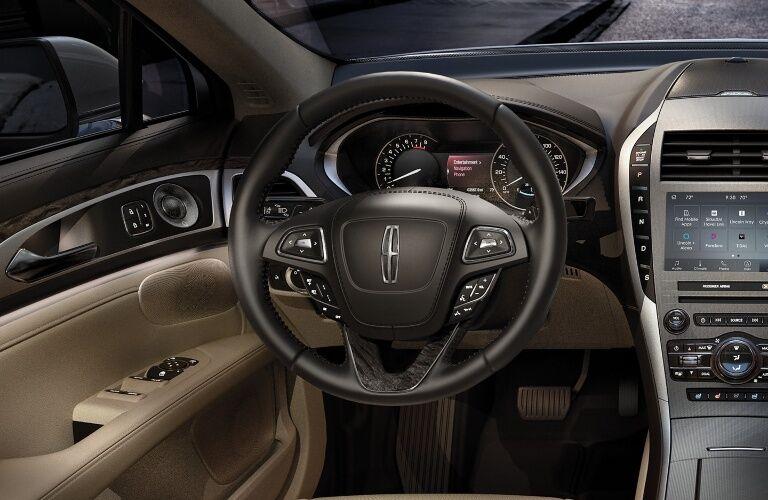 2020 Lincoln MKZ driver's cockpit