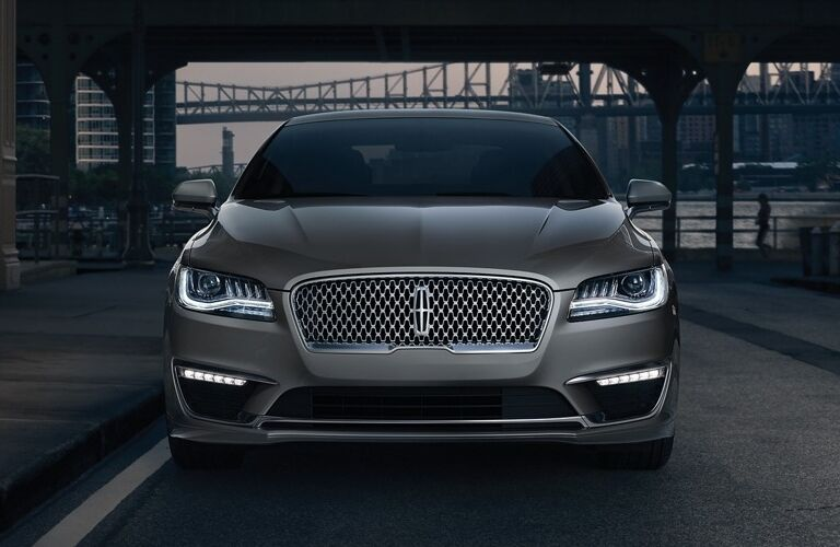 2020 Lincoln MKZ front end