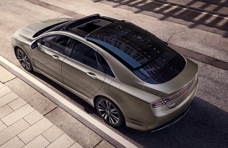Top View of 2020 Lincoln MKZ