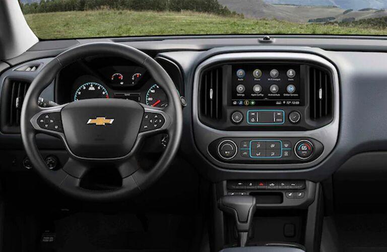 2021 Colorado cockpit