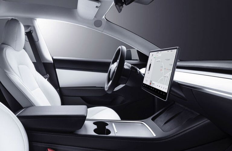 2021 Model 3 cockpit showcase