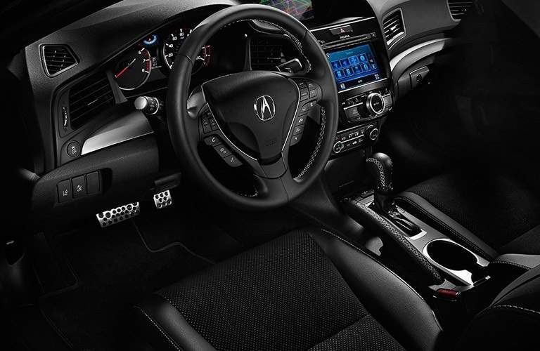 steering wheel of the 2016 Acura RDX