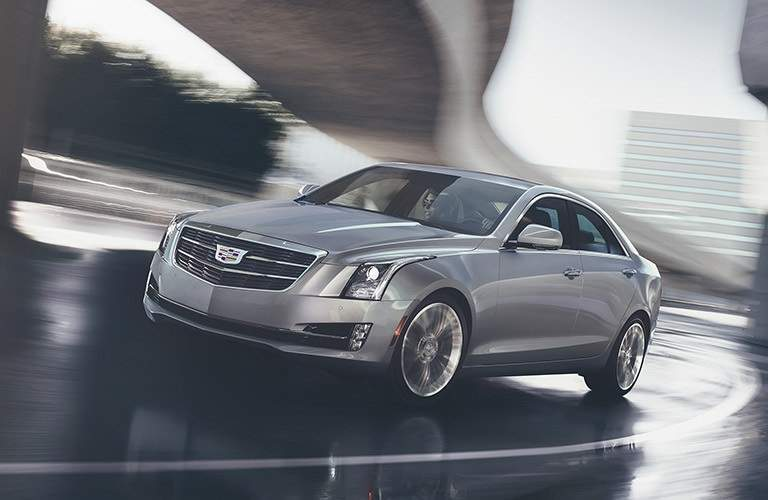 2017 Cadillac ATS making a right turn