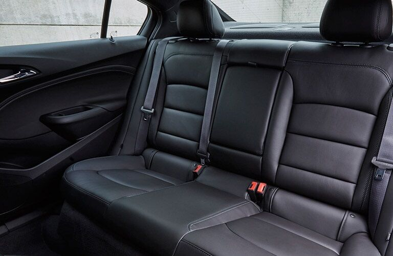 Back seats of a 2016 Chevy Cruze