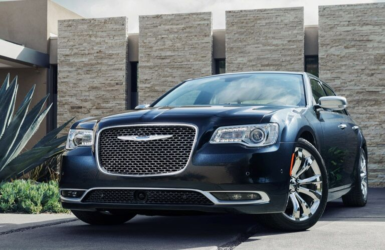 Blue 2016 Chrysler 300 Sedan