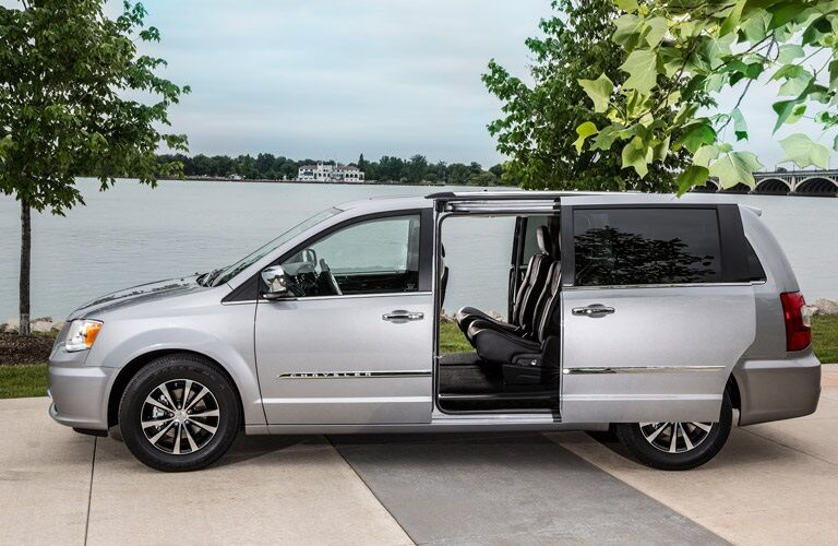 Silver 2016 Chrysler Town & Country