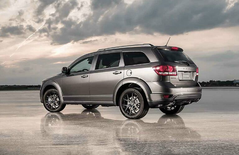 silver 2016 Dodge Journey
