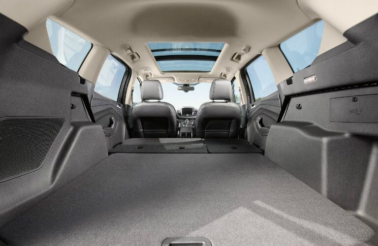 Available cargo space in the 2016 Ford Escape