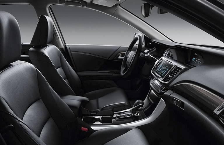 Interior of 2016 Honda Accord