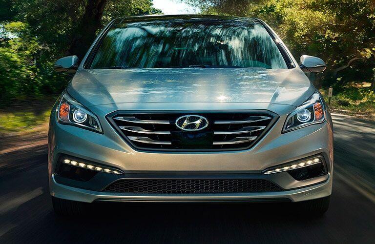 Front view of a 2017 Hyundai Sonata