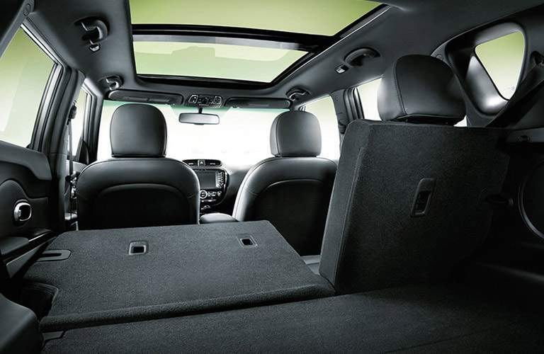 cargo space in the 2017 Kia Soul