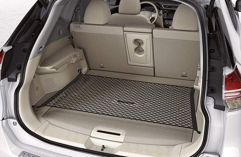 cargo space in the 2016 Nissan Rogue