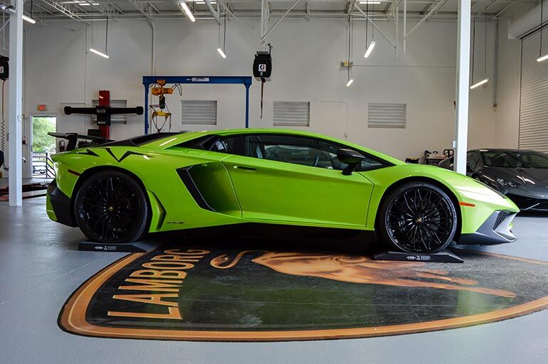 Lamborghini Parking Cushions
