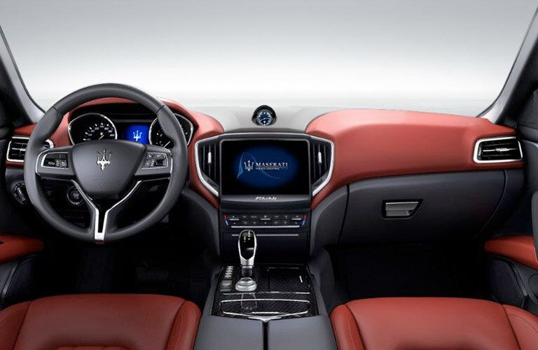 2017 Maserati Ghibli Dashboard