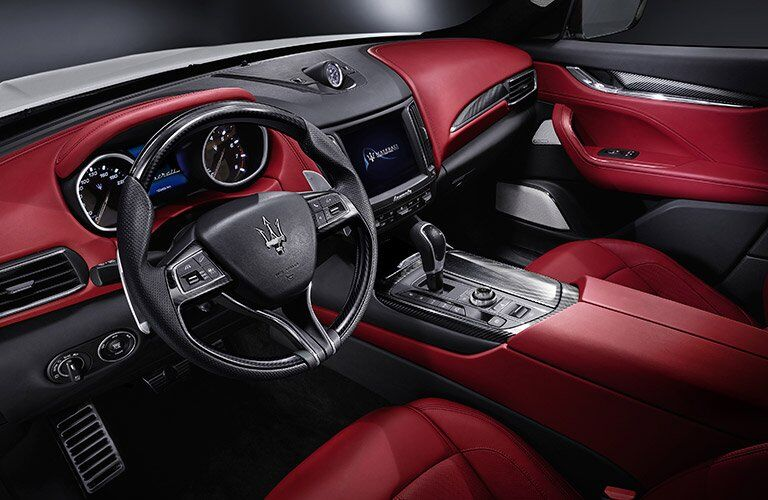Maserati Levante red Interior