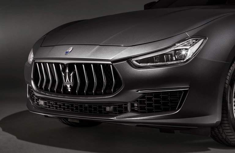 front fascia of the 2018 Maserati Ghibli