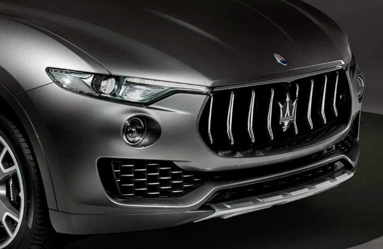 2018 Maserati Levante exterior front fascia