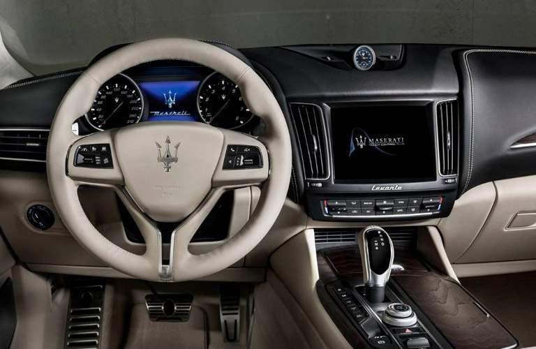 2018 Maserati Levante interior front steering wheel