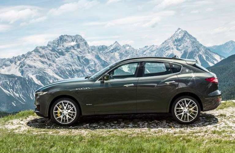 2018 Maserati Levante profile view