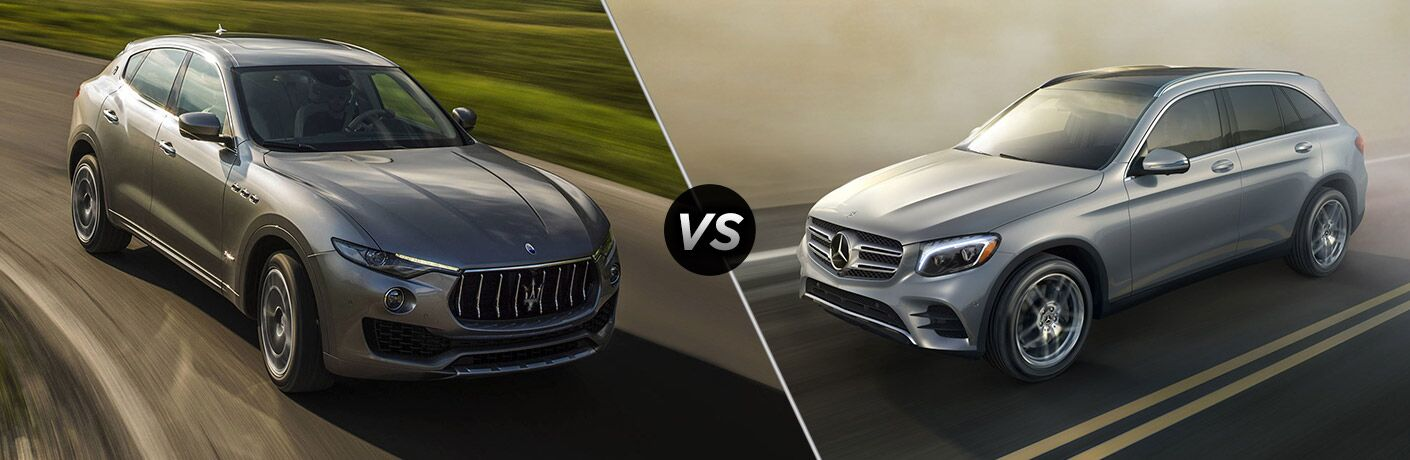 2019 Maserati Levante vs 2019 Mercedes-Benz GLE