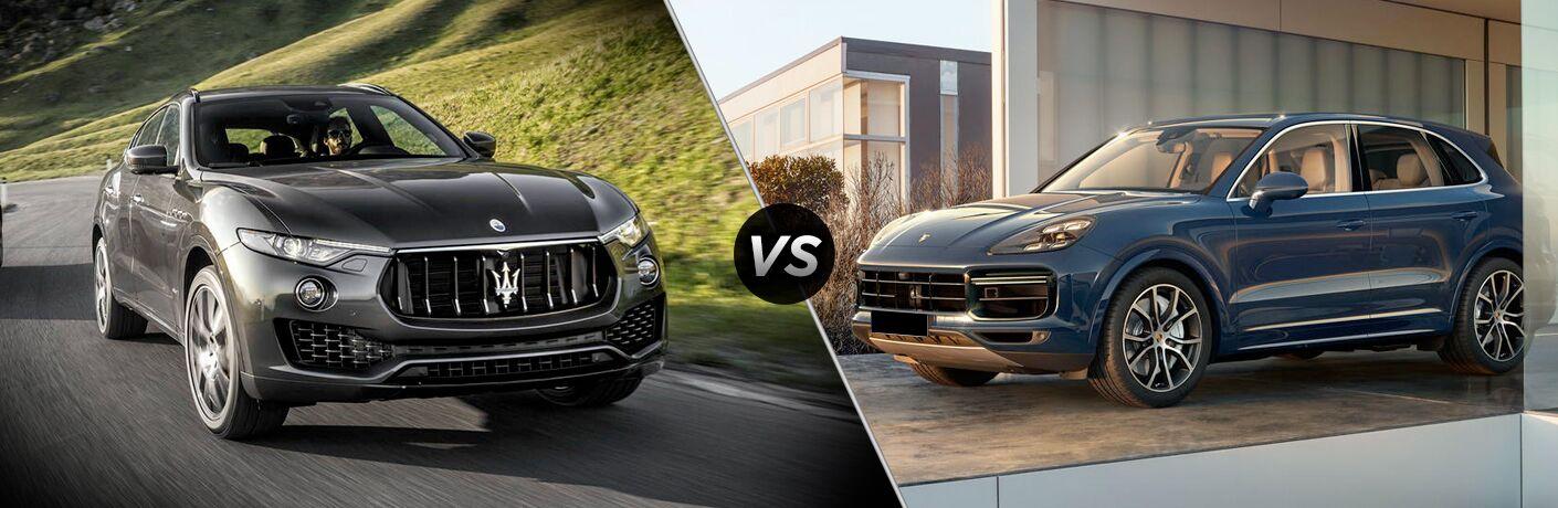 2018 Maserati Levante vs 2018 Porsche Cayenne