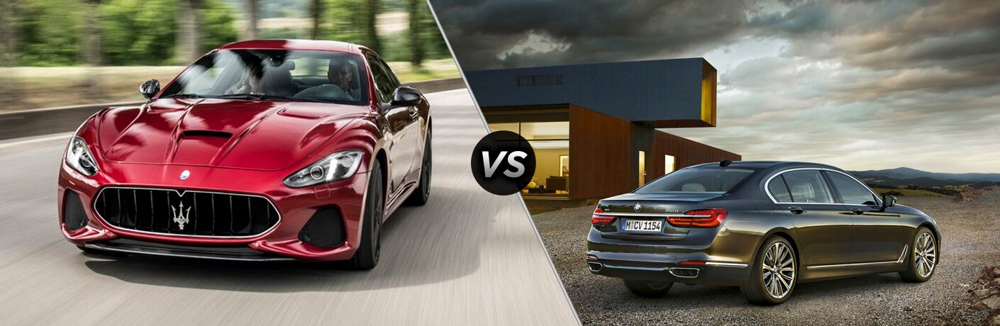 2019 Maserati Quattroporte vs 2019 BMW 7-Series