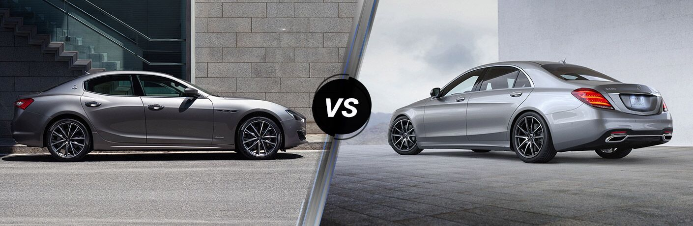 2019 Maserati Ghibli vs 2019 Mercedes-Benz S 450