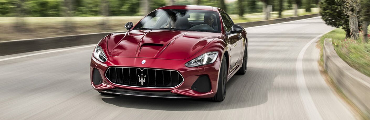 2019 Maserati GranTurismo front view