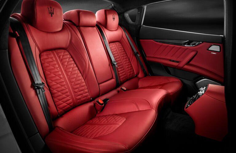 Back Seats of 2019 Maserati Quattroporte