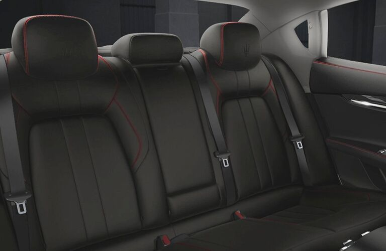 2019 Maserati Quattroporte executive rear seats