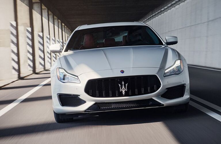 2019 Maserati Quattroporte on the road