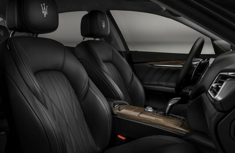 2019 Maserati Ghibli interior front seats