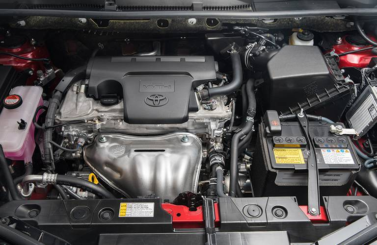 Engine in 2016 Toyota RAV4