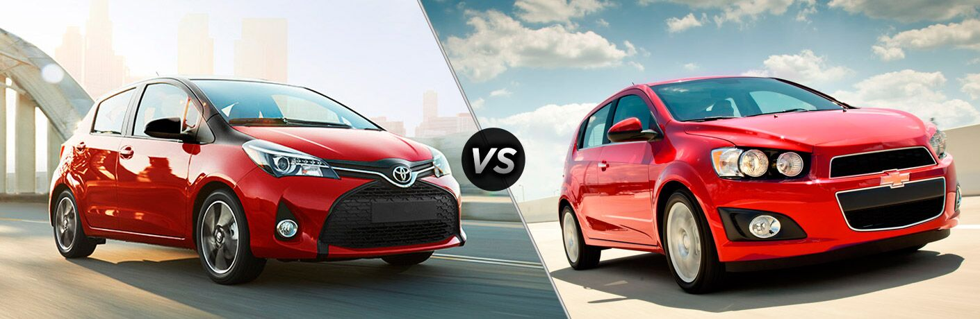 2016 Toyota Yaris vs 2016 Chevrolet Sonic