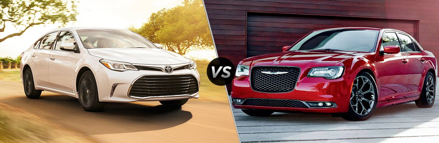 2017 Toyota Avalon vs 2017 Chrysler 300