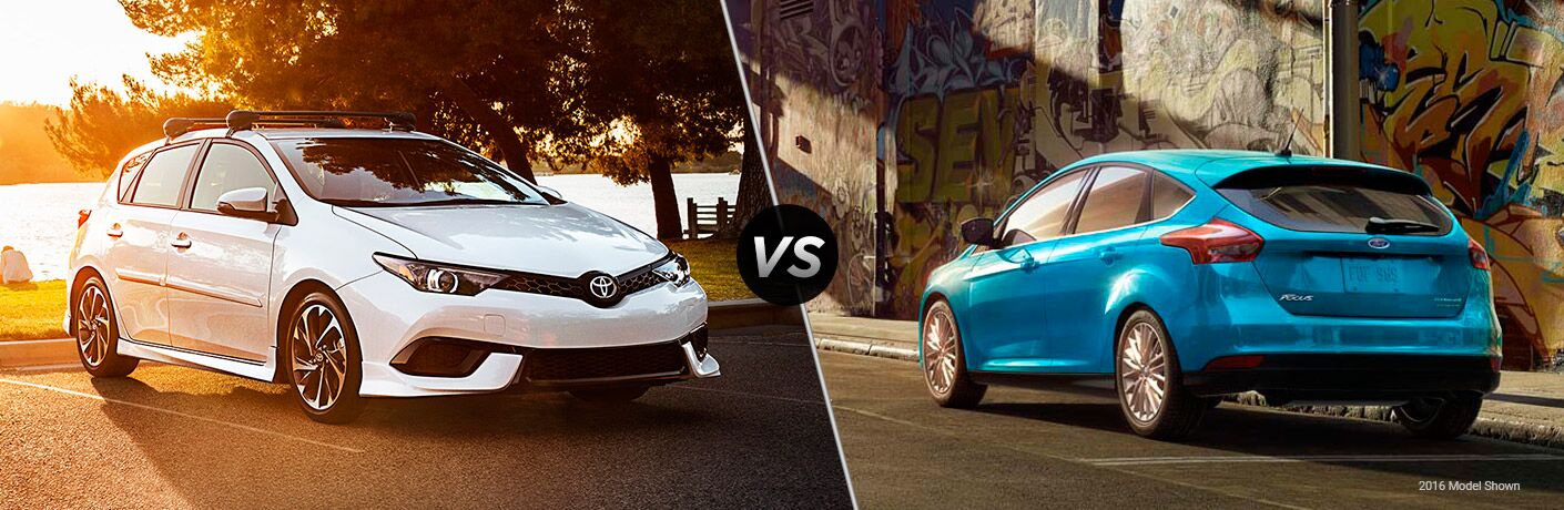 2017 Toyota Corolla iM vs 2017 Ford Focus Hatchback
