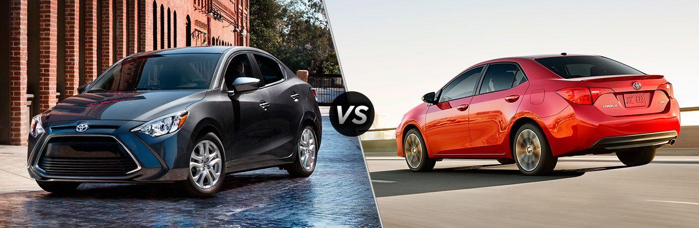 2017 Toyota Yaris iA vs 2017 Toyota Corolla