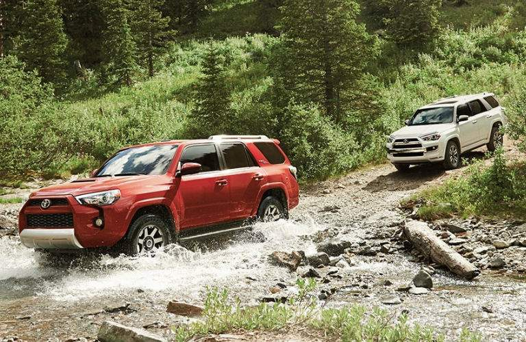2018 Toyota 4Runner near Downers Grove IL Off-Road Features