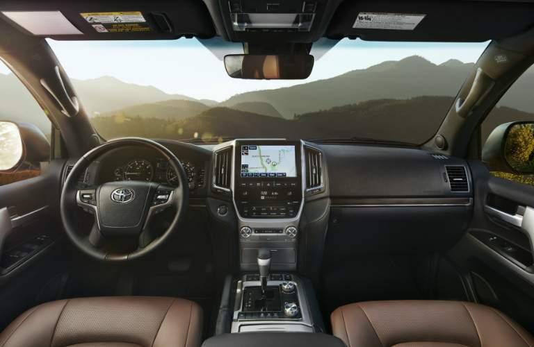 2018 Toyota Land Cruiser near Downers Grove IL Interior