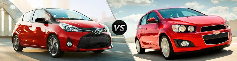 2016 Toyota Yaris vs 2016 Chevrolet Sonic