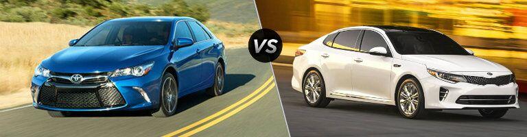 2016 Toyota Camry vs 2016 Kia Optima