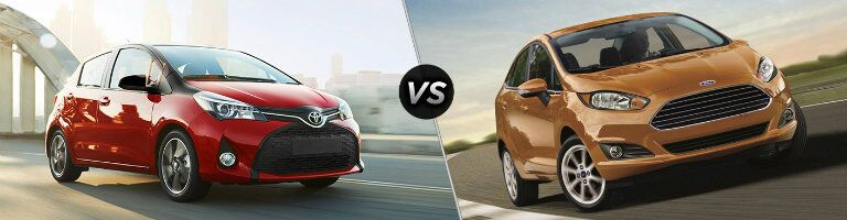 2016 Toyota Yaris vs 2016 Ford Fiesta Hatchback