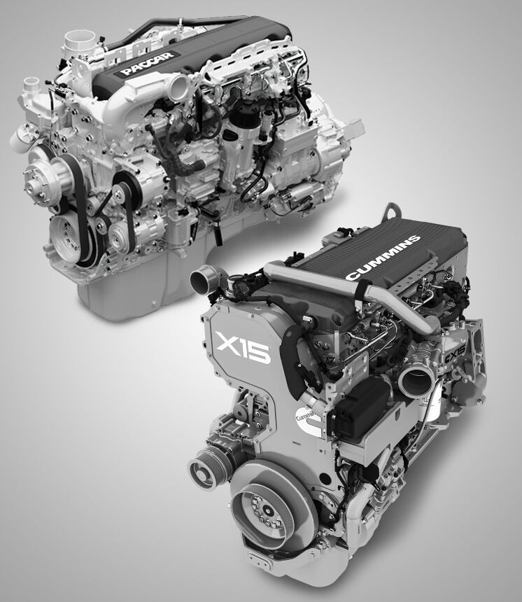 Paccar and Cummins Engines