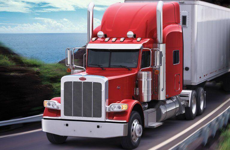 Peterbilt 389 Red front