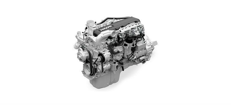 Peterbilt 389 MX-13 engine