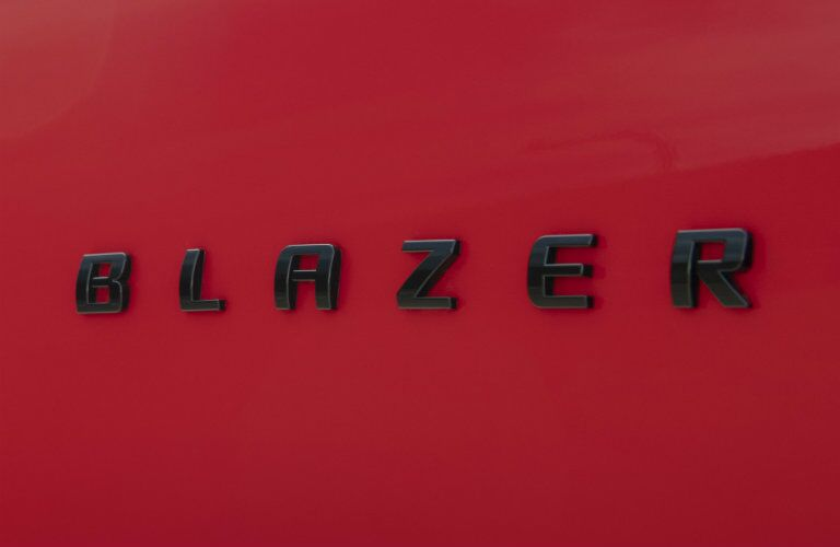 Badging on the 2019 Chevy Blazer