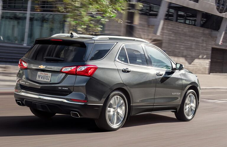 2020 Chevy Equinox in gray
