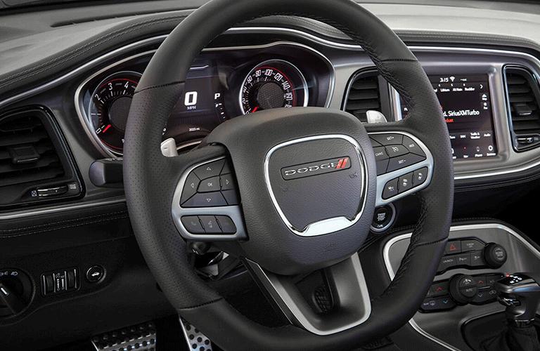 2021 Dodge Challenger steering wheel